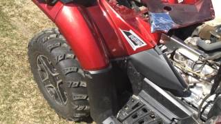 5. Recalled 2015 Polaris Sportsman 850 SP what they fixed.