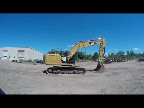 CATERPILLAR TRACK EXCAVATORS 329EL equipment video j8U1pnD39cc