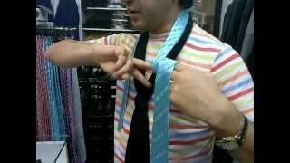 Как завязать галстук за 5 секунд