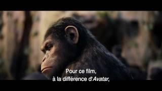 Les effects spéciaux dans le film La Planète des singes