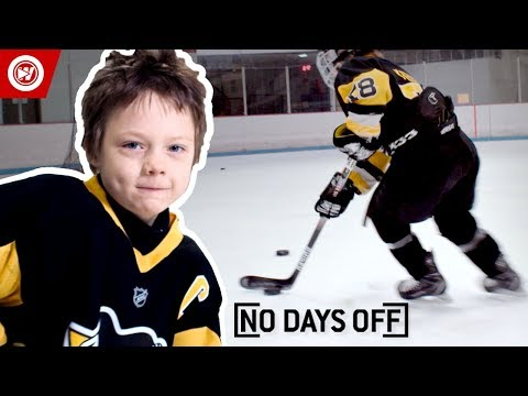 8-Year-Old Sidney Crosby | Roman Marcotte Hockey Highlights (видео)