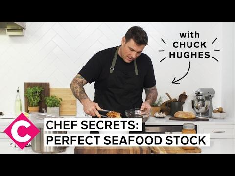 Chuck Hughes' Chef Secrets | Perfect Seafood Stock