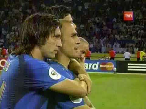 Final de la Copa Mundial Alemania 2006 - Tanda de penales