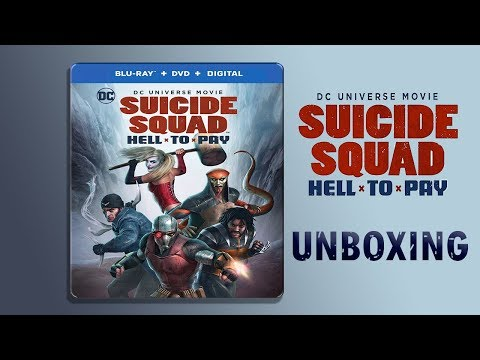 Suicide Squad: Hell To Pay Steelbook Unboxing