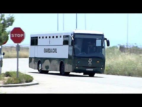 Inhaftierte Separatisten in katalanische Gefängnisse  ...