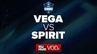Spirit vs Vega, game 1