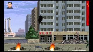 Watch North Korea's Kim Jong-Un Fighting America In This Video Game!