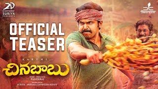 Video Chinna Babu Official Telugu Teaser   Karthi, Sayyeshaa, Sathyaraj   D. Imman MP3, 3GP, MP4, WEBM, AVI, FLV Juni 2018