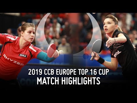 Petrissa Solja Vs Bernadette Szocs | 2019 Europe Top 16 Cup Highlights (Final)