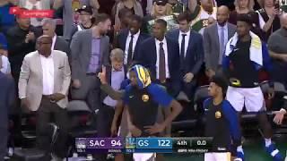 Sacramento Kings vs GS Warriors   Full Game Highlights   Oct 5, 2018   NBA Preseason 1