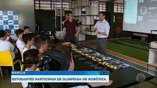 Estudantes de Marília participam de olimpíada de robótica