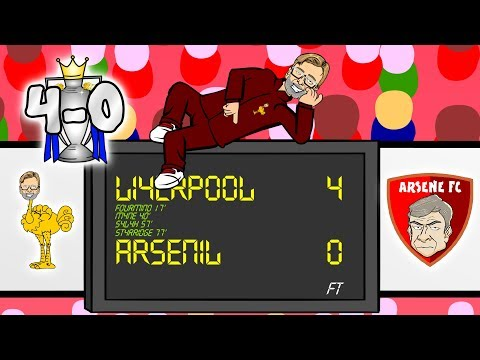 💣BOOM BOOM BOOM BOOM💣 Liverpool 4-0 Arsenal [Parody Goals Highlights 2017]