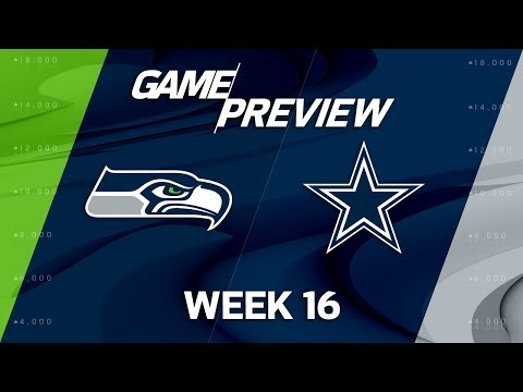Video: Seattle Seahawks vs. Dallas Cowboys | NFL Week 16 Game Preview | Move the Sticks