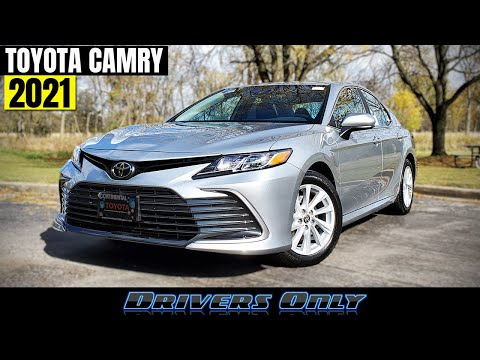 2021 Toyota Camry - Refreshed & Better Than Ever!