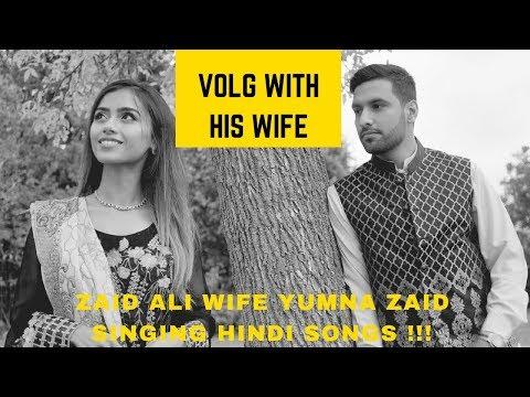 Video Zaid Ali Wife Yumna Zaid Singing Hindi Songs   Funny Girl   ZaidAlit New Volg with his wife 2018 download in MP3, 3GP, MP4, WEBM, AVI, FLV January 2017