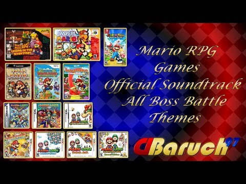 Mario RPG Games OST - All Boss Theme (1996 - 2017)