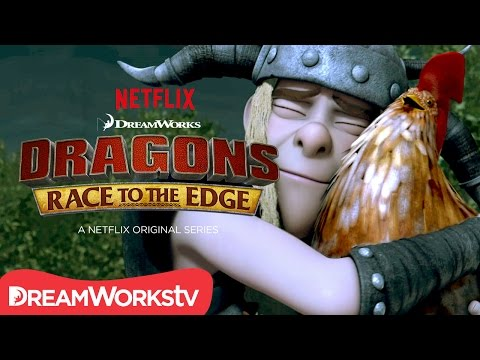 Dragons: Race to the Edge Season 3 Part 2 (Clip 'Chicken Speaks')