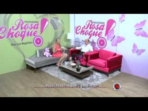 Valdir Abreu Magalhães  Programa Rosa Choque   apresentação Nina Lee Magalhãe...