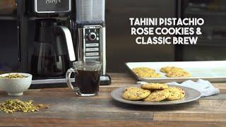 Tahini Pistachio Rose Cookies by Tastemade