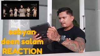Video Reaksi orang bertato denger deen salam - cover SABYAN ( BANGTATO REACTION VIDEO ) MP3, 3GP, MP4, WEBM, AVI, FLV Agustus 2018