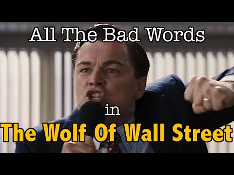All The Bad Words In The Wolf Of Wall Street | Swearing World Record ... Wolf Of Wall Street Drug Quotes