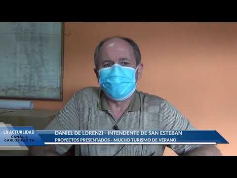 ENTREVISTA AL INTENDENTE DE LORENZI: MUCHOS TURISTAS DISFRUTARON DEL BALNEARIO DE SAN ESTEBAN
