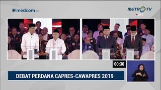Video Debat Pilpres 2019 Part 5 - Jokowi Mendebat Prabowo Soal Terorisme MP3, 3GP, MP4, WEBM, AVI, FLV Januari 2019