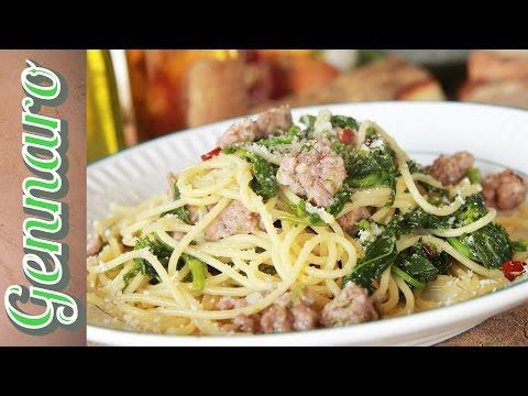 Simple Sausage Spaghetti   Amalfi Coast