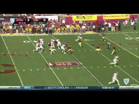 Antwaun Woods Sack vs Utah 2013 video.