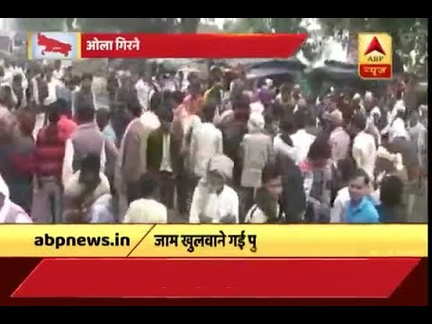Mahoba: Police brawls with farmers after they block Jhansi-Mirzapur National Highway