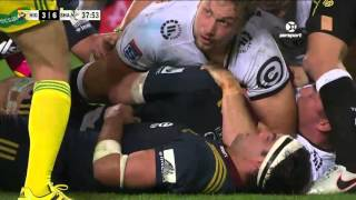 Highlanders v Sharks Rd.9 2016| Super Rugby Video Highlights