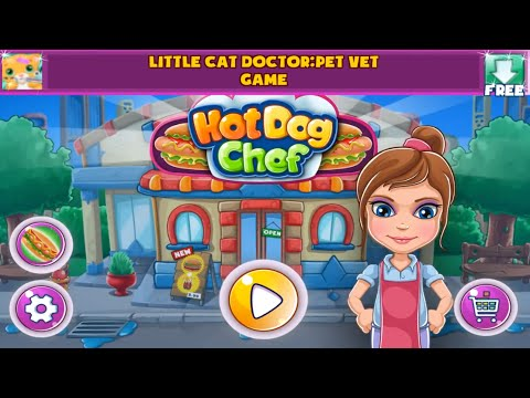Hot Dog Chef Cooking Rush Android Gameplay (HD)