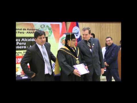 Premiación de ANAP alcalde Ite