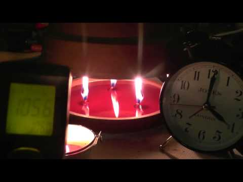 "Candle heater part 2 ""8 hour run time"""