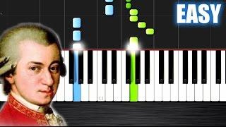 Mozart - Eine kleine Nachtmusik - EASY Piano Tutorial  Ноты и М�Д� (MIDI) можем выслать Вам (Sheet m