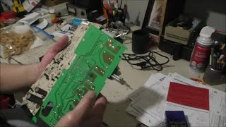 How to repair circuit boards, tips and tricks and replace desk chair lift cylinders by Louisiana Cajun Recipes