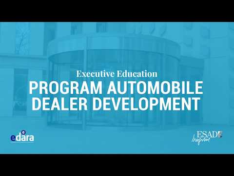 ESADE transforma el futuro del Distribuidor Automoción con el Program Automobile Dealer Development (PADD)