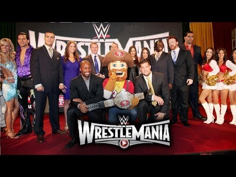 Conference - WWE and Santa Clara, California, welcome WrestleMania 31 to Silicon Valley in 2015.