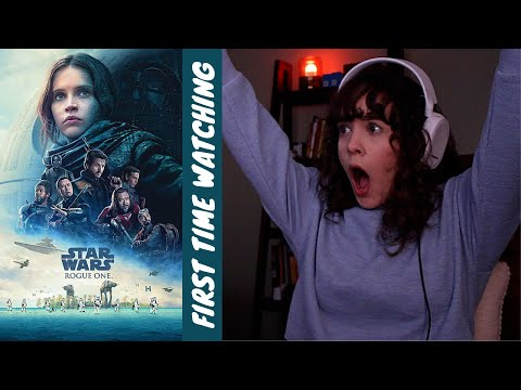 FIRST TIME WATCHING: ROGUE ONE!! (first movie of 2021)