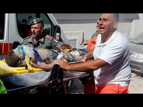 Ίσκια: Δραματική διάσωση μωρού 7 μηνών από τα ερείπια