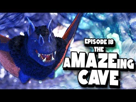 THE MAZE CAVE + MORE DINO BREEDING! - ARK: Survival Evolved ASCENSION Ep #18
