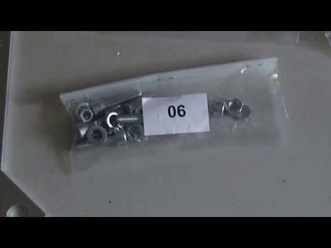 Velleman K8200 3D Printer Parts Overview