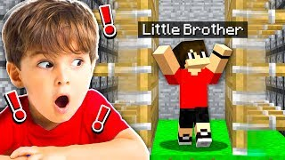 Video BEST TRAPS TO USE ON YOUR LITTLE BROTHER IN MINECRAFT! MP3, 3GP, MP4, WEBM, AVI, FLV April 2019