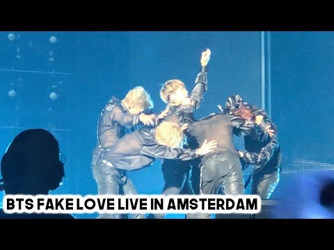 BTS (방탄소년단) FAKE LOVE LIVE IN AMSTERDAM