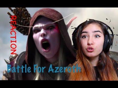 Battle for Azeroth: World of Warcraft Animated Short REACTION