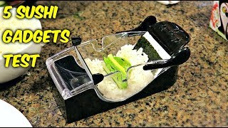 Video 5 Sushi Gadgets put to the Test MP3, 3GP, MP4, WEBM, AVI, FLV Desember 2018