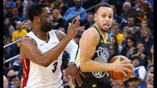 Golden State Warriors vs Miami Heat NBA Full Highlights (11th February 2019)