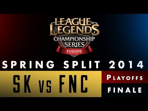 LCS EU Spring Split 2014 - SK vs FNC - Finale - Game 1