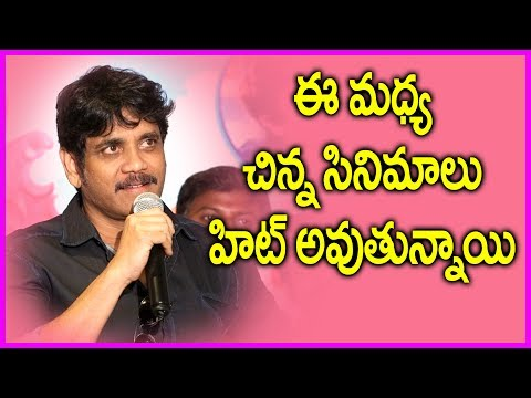 Nagarjuna Extraordinary Speech @ Vaisakham Movie Triple Platinum Disc Function