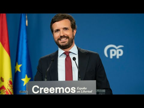 Pablo Casado realiza balance del Curso Político.